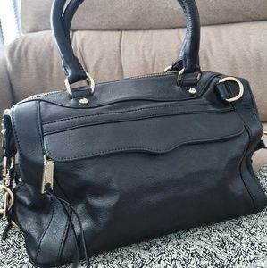 Rebecca minkoff satchel leather bag